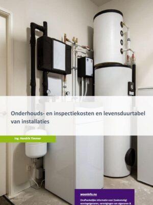 onderhouds- en inspectiekosten en levensduurtabel van installaties