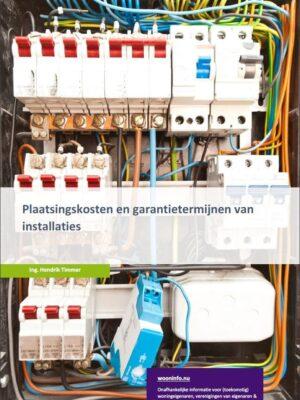 plaatsingkosten en garantietermijnen van installaties